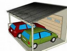 3d car and patio color